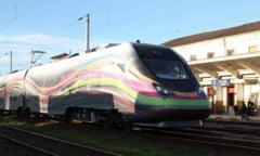 Primul tren electric produs in Romania, finantare de 4,3 milioane de euro (Video)
