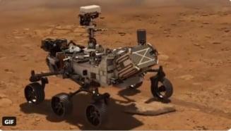 Primul video de pe Marte din istoria omenirii. Roverul Perseverance, al NASA, a transmis primele imagini
