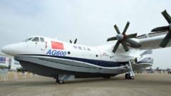 Primul zbor al celui mai mare hidroavion din lume a fost un real succes: Planurile Chinei pentru acest aparat (Video)