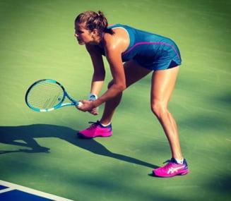 Principala favorita a turneului de la Linz, eliminata inca din runda inaugurala