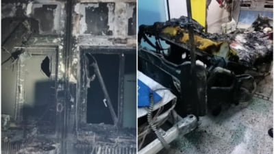 Principalele informatii in cazul incendiului de la Spitalul Judetean Piatra Neamt