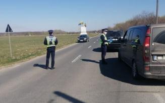 Prins de politisti dupa ce a provocat un accident si a fugit de la fata locului