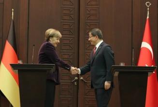 Prinsi intre rusi si teroristi, turcii ii reclama lui Merkel: Nu ne lasati singuri!