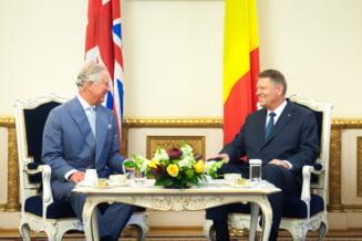 Printul Charles vine din nou in Romania. Se intalneste cu Iohannis si Ciolos UPDATE