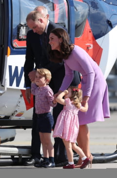 Printul George a implinit 4 ani si Casa Regala a marcat momentul (Foto)