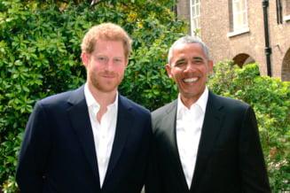 Printul Harry s-ar putea sa nu-l invite pe prietenul Obama la nunta, din cauza lui Trump