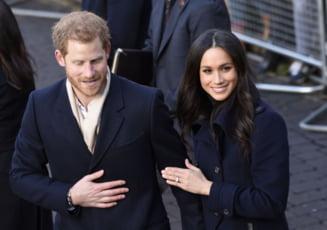 Printul Harry si Meghan Markle au anuntat data nuntii