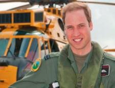 Printul William isi incheie cariera de pilot de elicopter
