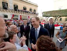 Printul William se tine de glume: Malta nu ar supravietui unei vizite a lui George