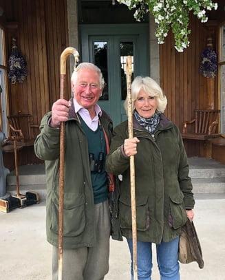 Printul de Wales si Camilla au lansat un nou portret de Craciun