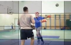 Probe practice ca în filmele de acțiune pentru candidații la posturile de instructori ai structurilor de poliție VIDEO
