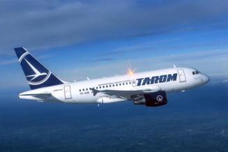 Probleme in zbor: Un avion Tarom nu a putut ateriza la Iasi