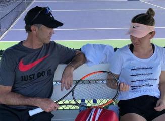 Probleme intre Simona Halep si Darren Cahill? Sportiva n-a mizat deloc pe australian la Miami, dupa momentele tensionate de la Indian Wells