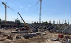 Probleme la noile stadioane Steaua si Rapid