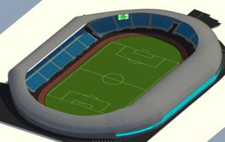 Probleme la noul stadion din Sibiu: Lucrarile sunt in intarziere