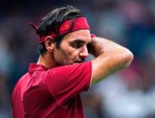 """Probleme mari pentru Roger Federer la US Open: """"E pentru prima oara cand mi s-a intamplat asa ceva"""""""