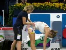Probleme medicale pentru Simona Halep la Dubai