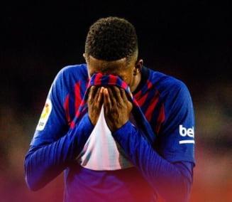 Probleme pentru Barcelona: Dembele s-a accidentat