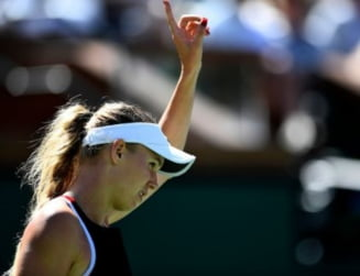 Probleme pentru Caroline Wozniacki la Indian Wells: Spune ca nu-i pasa de locul 1 WTA