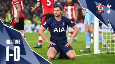 Probleme pentru Mourinho pe banca lui Spurs. Un nou esec pentru Tottenham, venit chiar pe 1 ianuarie