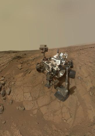 Probleme pentru robotul Curiosity al NASA, aflat pe Marte