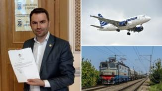 """Problemele """"istorice"""" pe care trebuie sa le rezolve noul ministru al Transporturilor: falimentul CFR Marfa, dezastrul de la TAROM si licitatiile dubioase pentru autostrazi"""
