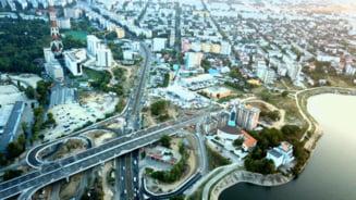 Problemele podului Ciurel si solutiile de avarie ale specialistilor pentru salvarea pasajului care nu duce nicaieri