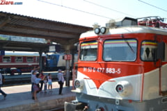 Problemele retelei feroviare, readuse la lumina de protestul CFR - Situatii similare in Bulgaria si Ungaria