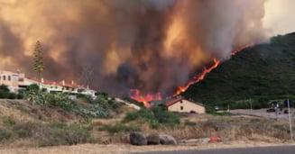 Procuratura italiană a început ancheta în cazul incendiilor devastatoare din Sardinia