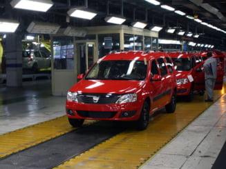 Productia Dacia a urcat cu 15 la suta, Ford a ramas la sub 10.000 de unitati