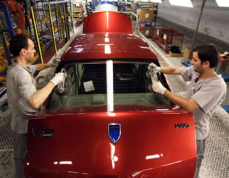 Productia de masini in Romania a crescut. Vezi cate s-au produs