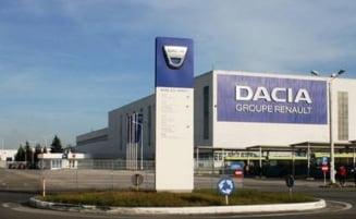 Productia masinilor Dacia, la Mioveni, repornita in totalitate in luna mai