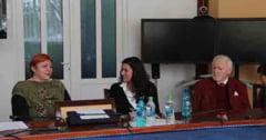 "Prof. univ. dr. Sandra Evans din cadrul Universitatii din Tubingen (Germania) a vizitat Universitatea de Vest ""Vasile Goldis"" din Arad"