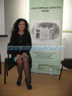 Profesoara Florentina Vasiliu Moise - reconfirmata pe functia de director al CCD Neamt