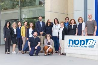 Profesorii Lauder-Reut se afla in avangarda educatiei STEAM in Romania, prin cursuri de formare in Israel