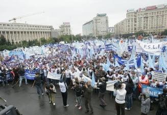 Profesorii ameninta cu proteste si greva generala. Au dat un ultimatum Guvernului