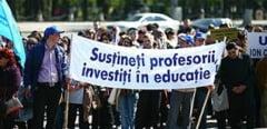 Profesorii vor picheta Ministerul Muncii