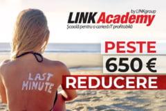 Profitati de oferta Last minute de la LINK Academy si economisiti 650 de euro