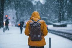 Prognoza meteo pentru Bucuresti. Vreme rece, ninsori si vant