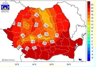 Prognoza meteo pentru luna august in Romania. Unde loveste canicula si in ce interval