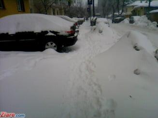 Prognoza speciala pentru Bucuresti: Temperaturile scad pana la minus 18 grade si zapada va atinge 30 de centimetri