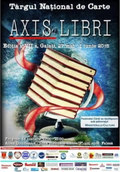 "Programul complet al Festivalului National al Cartii ""Axis Libri"""