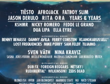 Programul concertelor NEVERSEA: Cand urca pe scena Tiesto, Rita Ora sau Fatboy Slim