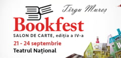 Programul integral Bookfest Targu-Mures (21-24 septembrie)