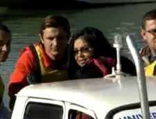 Proiect de licenta inedit: Trei studenti romani au lansat la apa o Dacie amfibie (Foto)