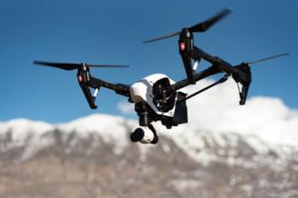 Proiect revolutionar. Teste pentru COVID-19, livrate cu drona la domiciliul clientilor