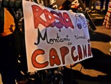 Proiectul Rosia Montana, contestat in strada
