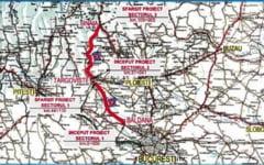 Proiectul de modernizare si largire la benzi a DN 71 Targoviste - Sinaia, in lucru la CNAIR si APM Dambovita