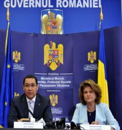 Proiectul privind amnistierea mamelor si pensionarilor, discutat de guvern