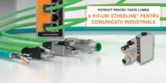Promotie LAPP Romania la kituri pentru comunicatii industriale Etherline